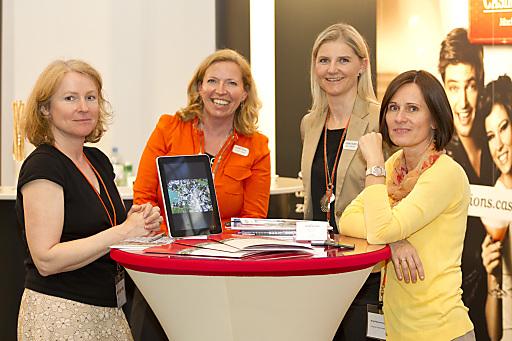 Das Team der Eventlocations der Casinos Austria wieder bei der HOTELBIZ - SEMINARBIZ - EVENTBIZ