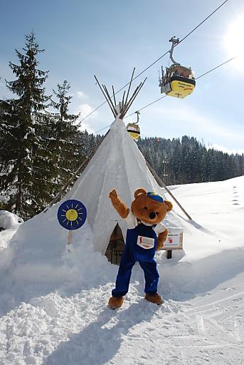 Bruno Bär in der Skiregion Dachstein West