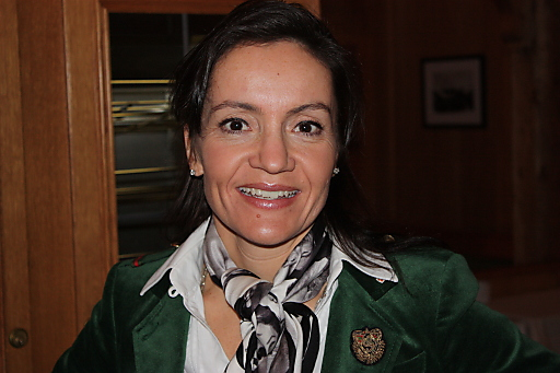 Eigentümerin vom Hotel Goldener Berg, Frau Daniela Pfefferkorn