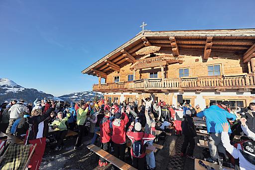9. bis 23. März 2013: Hütten-Gaudi-Wochen in der SkiWelt