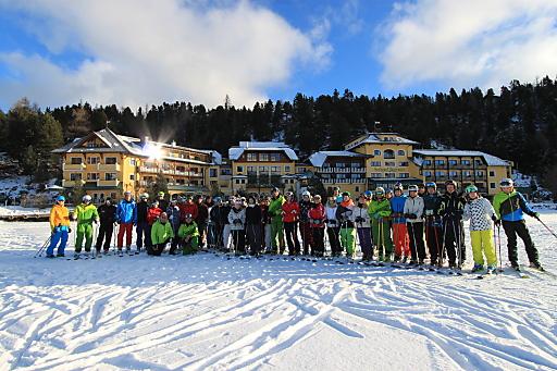 50 SkilehrerInnen werden jährlich Seehotel Jägerwirt ausgebildet, so auch im heurigen Winter