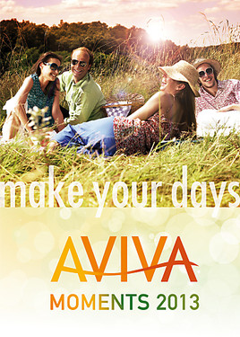 Bild zu AVIVA Moments 2013. MAKE YOUR DAYS.