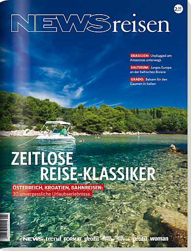 Nach einem langen und kalten Winter erscheint das neue NEWSreisen Magazin, in seiner fünften Auflage, und präsentiert darin zeitlose Reise-Klassiker.