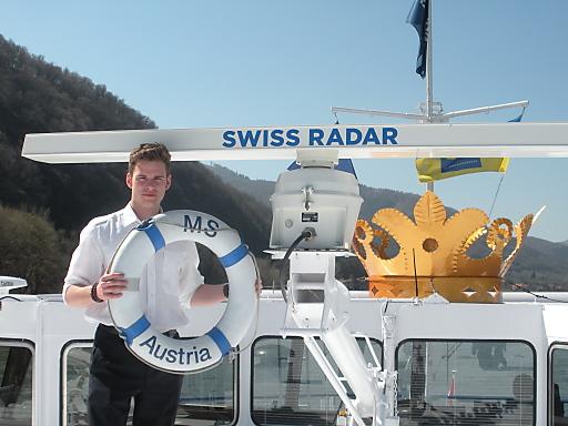 MS Austria mit neuem Radar.