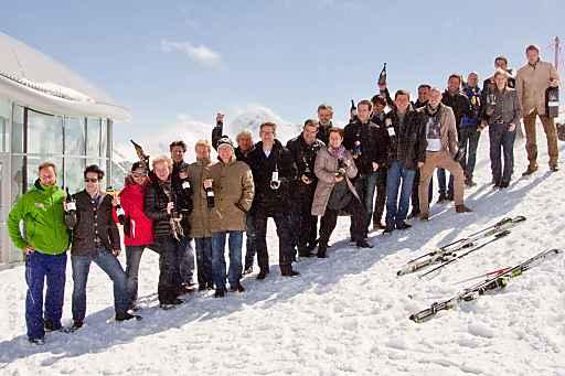 Hochkarätiger Winzertreff bei Österreichs höchster Weinverkostung am Pitztaler Gletscher