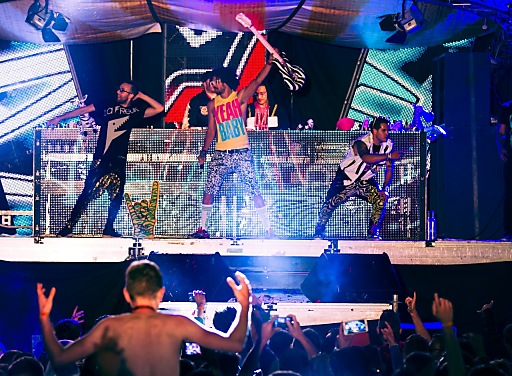 Red Foo and the Party Rock Crew of LMFAO sorgen für Megastimmung bei Spring Break Europe 2013