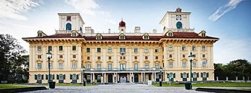 Bildtext: Schloss Esterházy Aufnahme: Eisenstadt