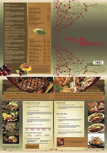 Halal Special-Karte im T.G.I. Friday's Vienna!