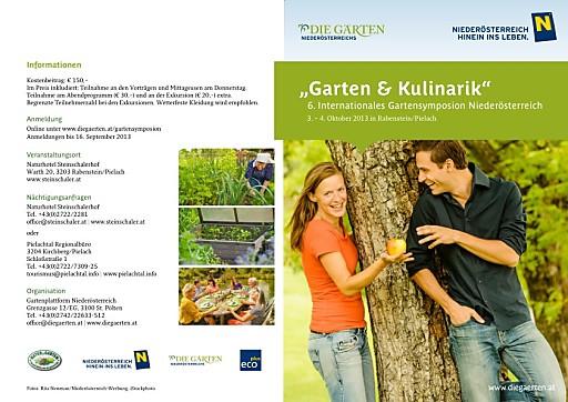 6. Internationales Gartensymposion Niederösterreich
