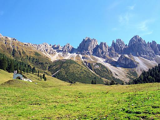 Nur der Status als Ruhegebiet kann die Tiroler Kalkkögel vor einer intensivtouristischen Skierschließung bewahren, mahnen die alpinen Vereine.