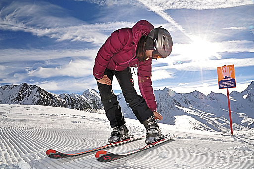 Perfekter Winterstart in Obergurgl-Hochgurgl im Tiroler Ötztal - aufgenommen am 14.11.2013