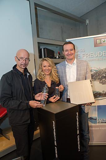 Präsentation der Porsche Design Karaffe von Zell am See-Kaprun