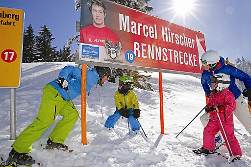 Dachstein West - Marcel Hirscher Rennstrecke