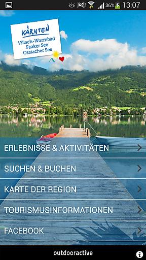 """Die Region Villach hat für Gäste und Einheimische eine spezielle """"Region Villach App"""" (für iPhone und Android) entwickelt. Diese App bietet einen Überblick über die besten Unterkünfte, die schönsten Touren, die magischen Orte, tolle Kulinarik-Tipps und die unterhaltsamsten Ausflugsziele für die ganze Familie."""