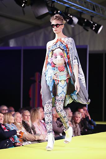 Rieger Fashion zeigt bei der Altstadt Salzburg Fashion Night junge flippige Mode.