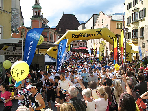 Raiffeisen Halbmarathon Hall-Wattens