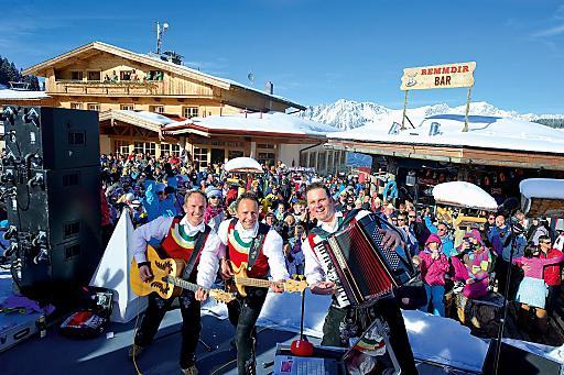 8. bis 30. März 2014: Skihütten-Gaudi-Wochen in der SkiWelt Wilder Kaiser-Brixental