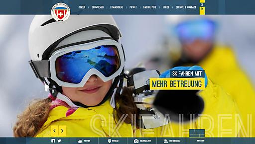 Das Look n'Feel-Konzept von Waldhart Software mit traumhaften Bildern schürt sofort die Lust aufs Pistenerlebnis im Skigebiet Arosa-Lenzerheide in der Schweiz.