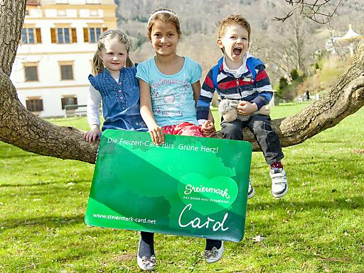 """2014 startet die Steiermark-Card in ihre 3. Saison. """"Eintritt frei"""" heißt es dann wieder bei über 100 Ausflugszielen vom 1. April bis 31. Oktober 2014. Nähere Infos auf www.steiermark-card.net"""