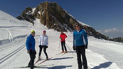 Langlauftraining mit Andrea Grossegger