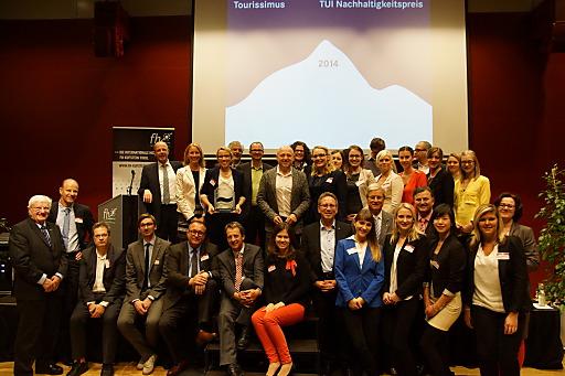Die Akteure des Österreichischen Tourismus-Forschungspreis freuen sich über eine gelungene Veranstaltung.