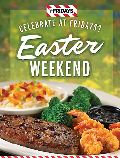 Happy Easter im T.G.I. Friday's