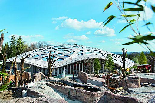 Elefantenpark Kaeng Krachan im Zoo Zürich