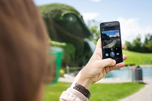 """Die Swarovski Kristallwelten als stark visuell geprägtes Erlebnisreich starten eine Initiative auf Instagram und veranstalten vom 23. bis 25. Mai 2014 das erste """"Instaweekend"""" Europas."""