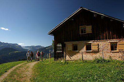 Unbeschwert weitwandern im Bregenzerwald.