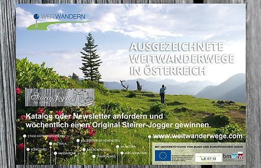 Weitwandern in Österreich