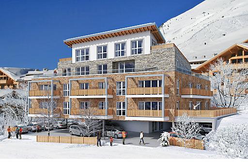 Die Immobilien-Spezialisten von Kristall Spaces vermarkten trotz schwer erhältlicher Baugenehmigungen im Kühtai, Tirols höchstem Wintersportort, 14 luxuriöse 2- und 3-Zimmer-Appartements.