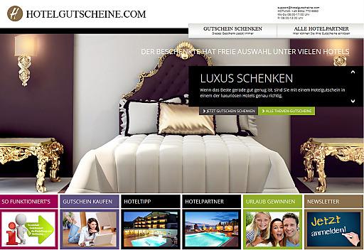 Hotelgutscheine.com das perfekte Geschenk