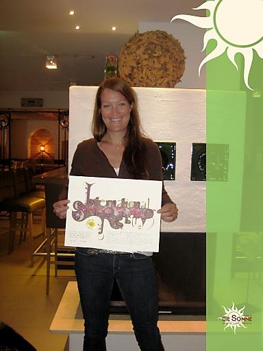 Hotelchefin Camilla Schwabl freut sich sehr, dass ein Stern seit Juni diesen Jahres den Namen Hotel DIE SONNE trägt.
