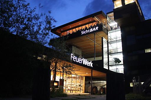 Foto 1: FeuerWerk_SichtBAR bei Nacht