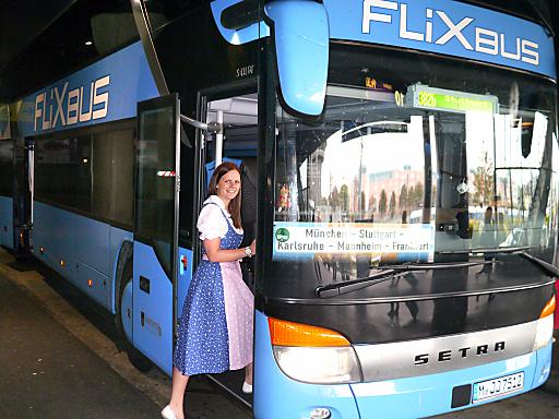 Mit Blaguss-FlixBus zum Oktoberfest: Wien - München (5x täglich) ab 19 Euro