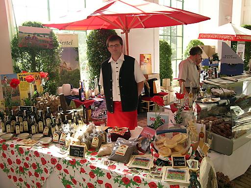 Aussteller Herbst-Kulinarium in der Börse für Landwirtschaftliche Prodkute in Wien 2., Taborstrasse 10