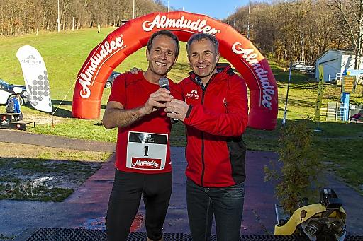Teilnehmer Alexander Rüdiger und Organisator Martin Dolezal