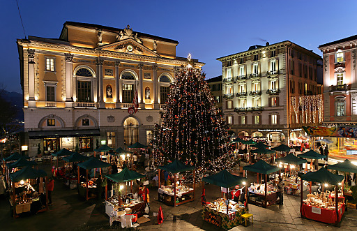 Natale in Piazza in Lugano