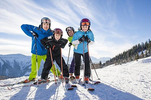 Skifahren ist für Familien ein teures Vergnügen