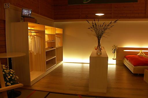 Bergholz-Zimmer im Biosphärenpark Großes Walsertal