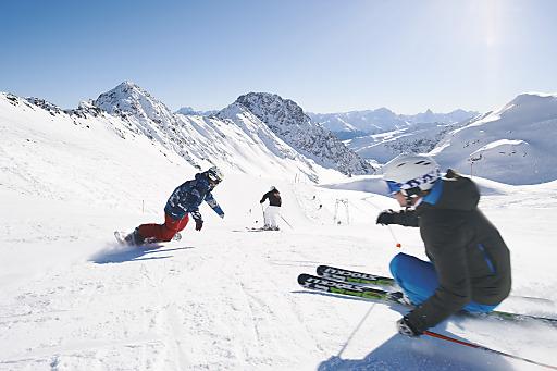 Ski und Snowboarden in Davos-Parsenn