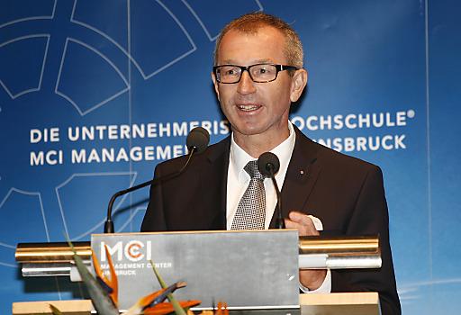 MCI-Rektor Dr. Andreas Altmann