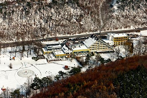 Luftaufnahme Seminar- und Eventhotel Krainerhütte