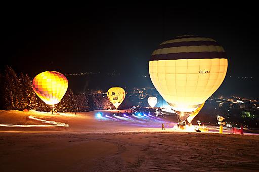 Nacht der Ballone in Zell am See-Kaprun