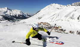 Bild zu Ski Industries of Great Britain (SIGB) testen im Kühtai die Skimodelle der Wintersaison 2015/16
