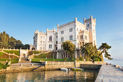 Schloss Miramare in Triest - Fixpunkt der Triest-Reise
