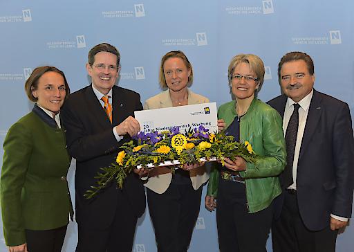 Die Niederösterreich-Werbung wird heuer 20 Jahre alt und zog bei einer Pressekonferenz im Landhaus St. Pölten Bilanz!