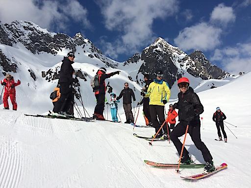 Skiexkursion Lech und Zürs