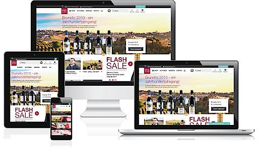 Besser, schneller, übersichtlicher und vor allem noch kundenorientierter - so präsentiert sich der neue Webshop von WEIN & CO.