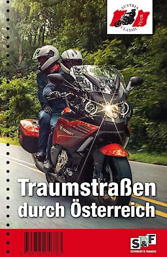 Cover des Motorradreiseführers Traumstraßen durch Österreich